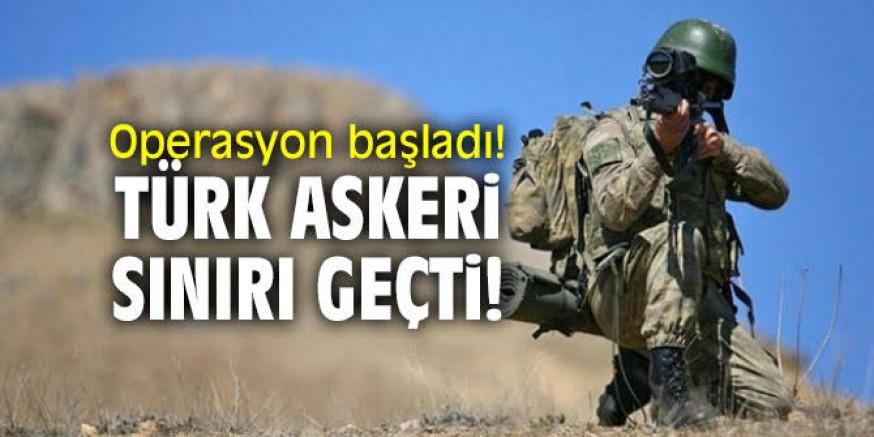 Türk askeri Suriye sınırını geçti iddiası