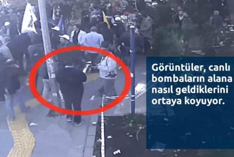 Ankara Garı'ndaki saldırının yeni görüntüleri çıktı