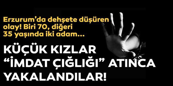 Erzurum'da kız çocuklarını kaçıranlar tutuklandı