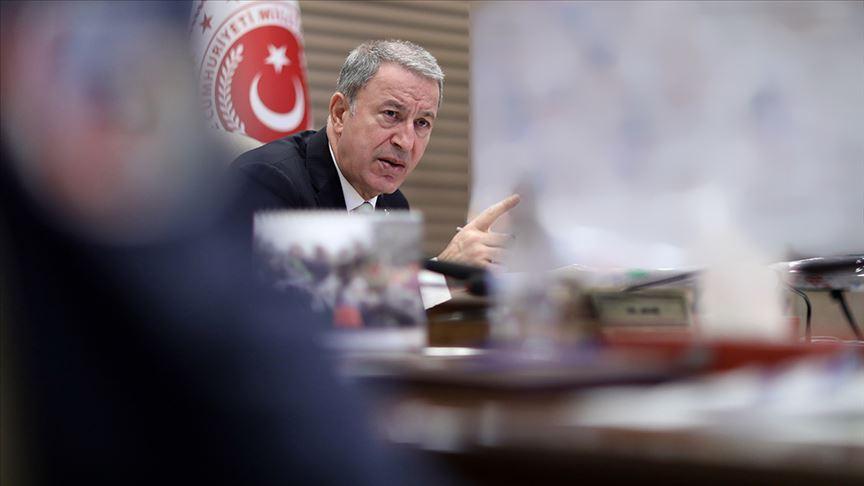Akar: Şu ana kadar 342 terörist etkisiz hale getirildi