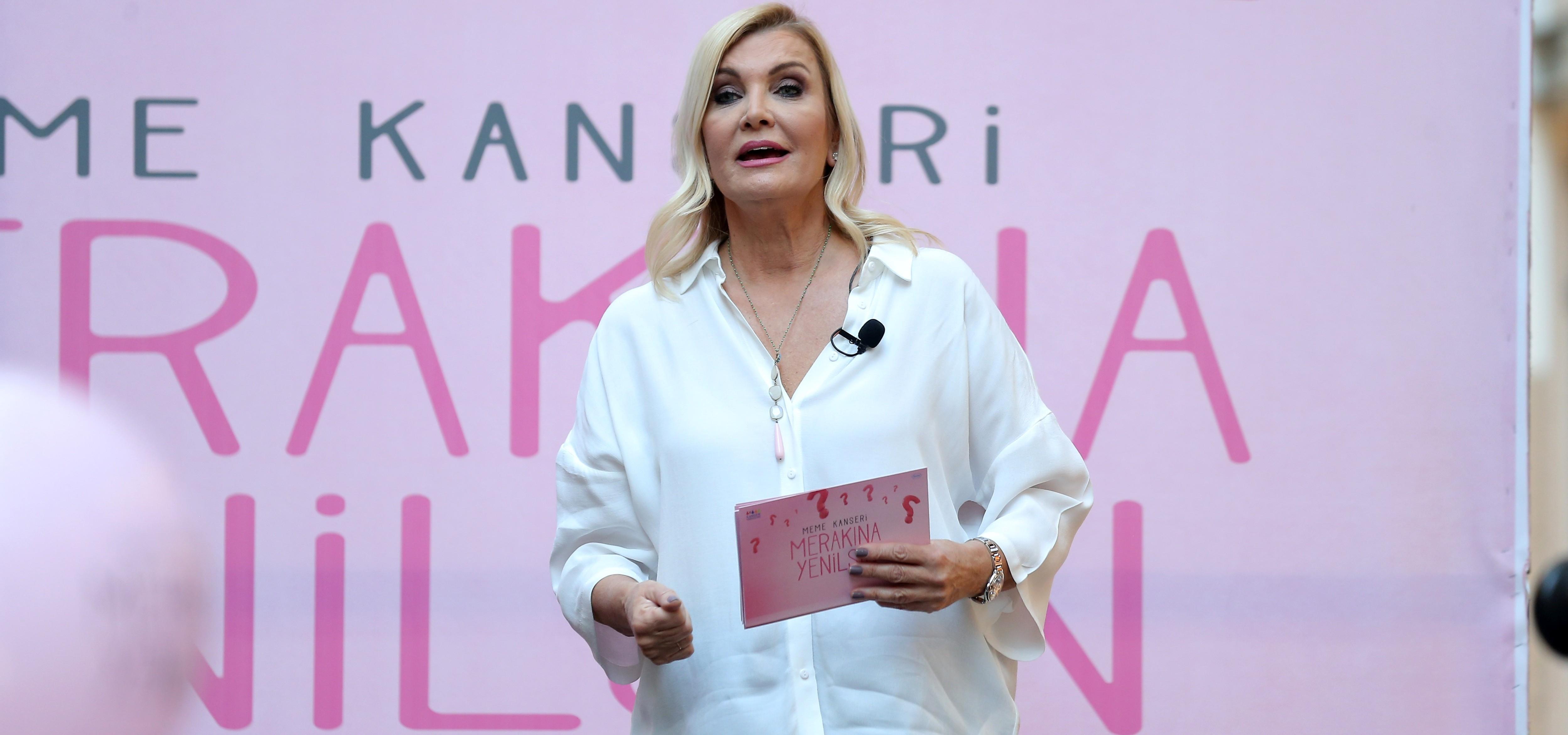 Derya Baykal, meme kanserini anlatıyor