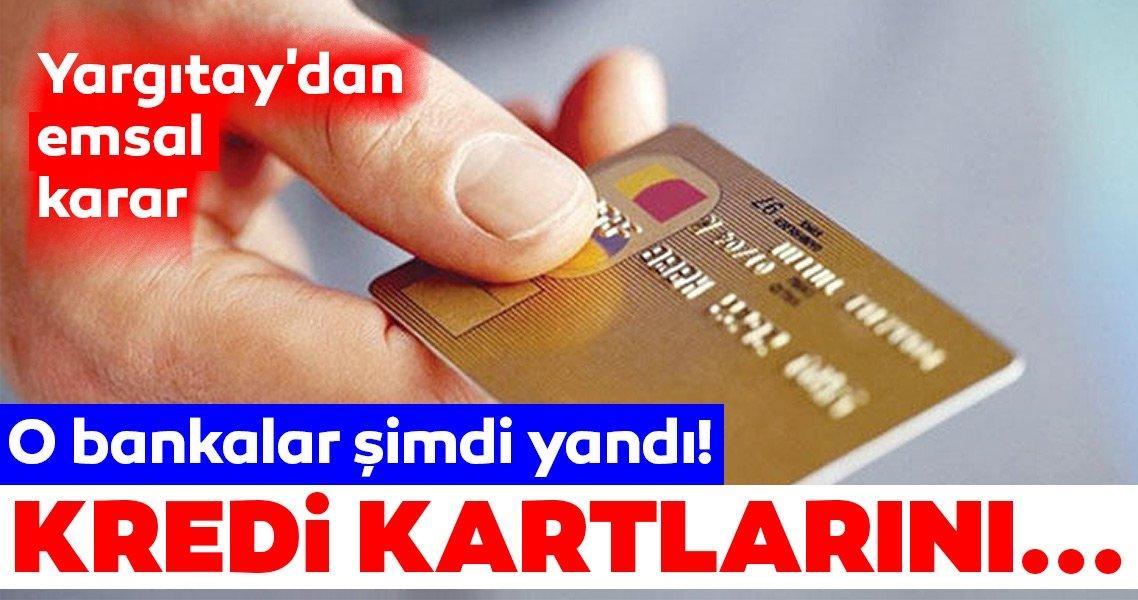 Rastgele kredi ve kredi kartı dağıtan banka şimdi yandı!