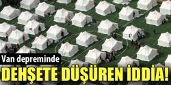 Çadırlar satılıyor iddiası