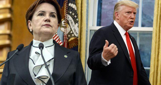 Akşener, ABD'nin yaptırım tehdidine karşı önerilerde bulundu
