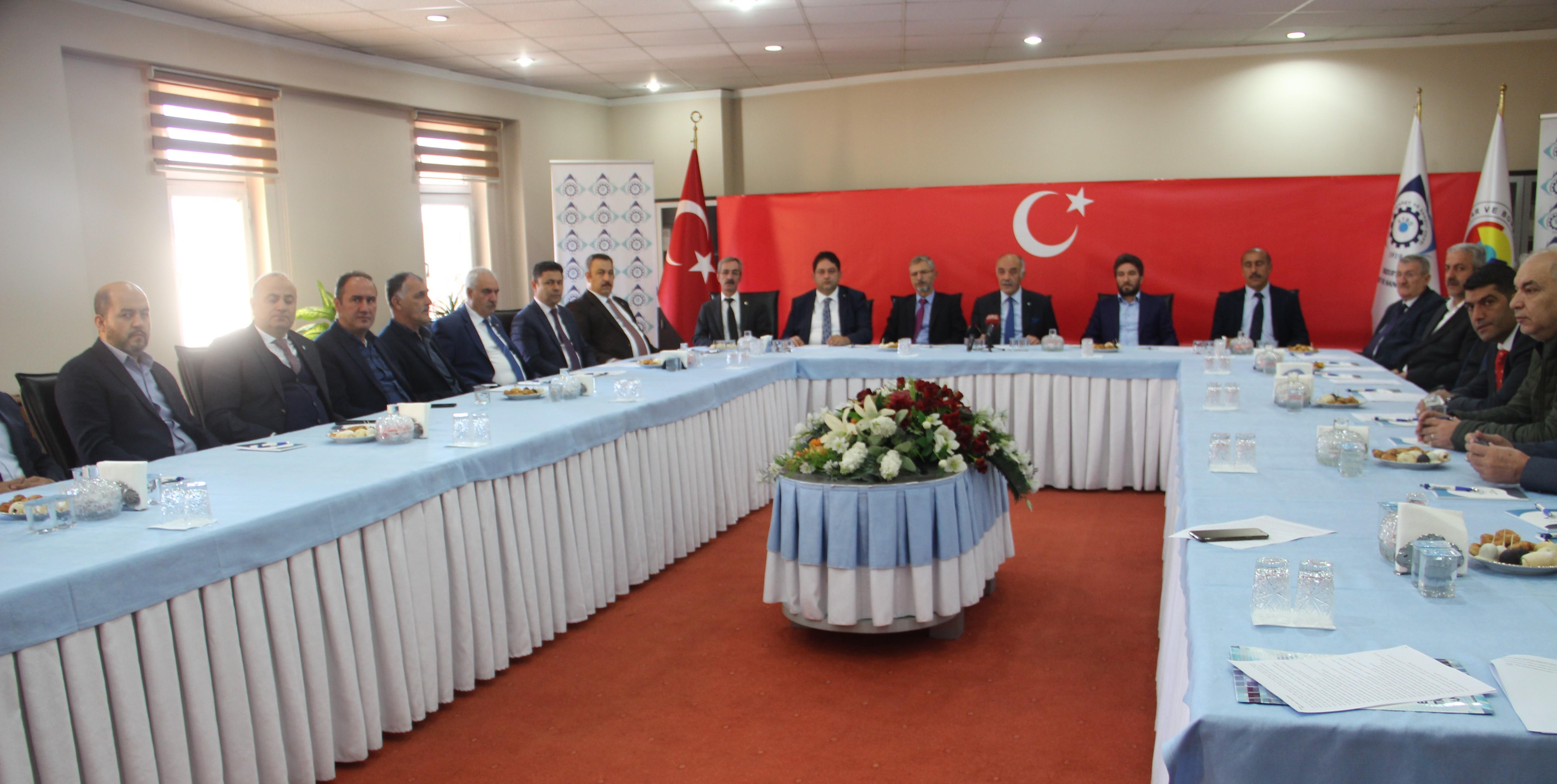 Erzurum'dan ortak ses