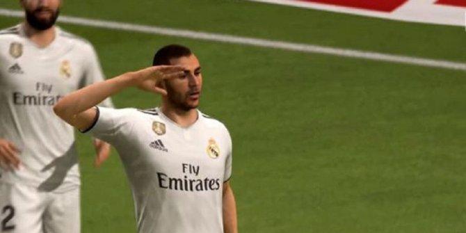 Asker selamı lisanslı FIFA oyununda!