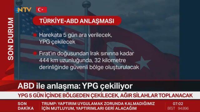 NYT'tan ABD ile anlaşmanın ardından Türkiye analizi