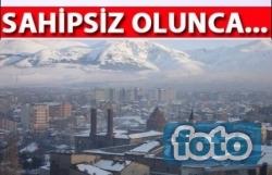 Bu görüntüler Erzurum'dan!