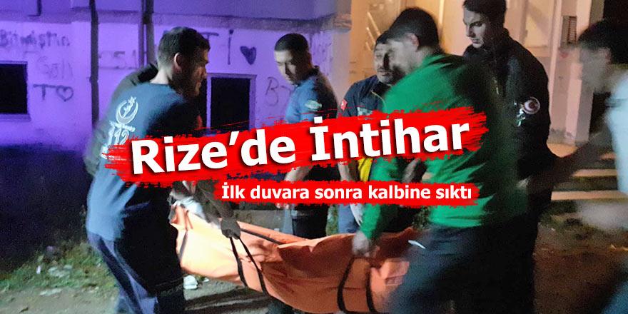 Erzurumlu genç intihar etti!