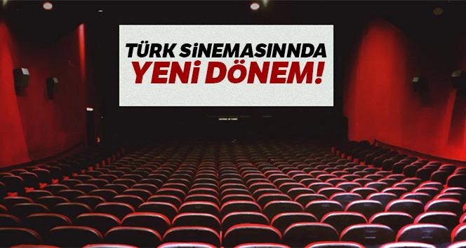 Türk sinemasında yeni dönem!