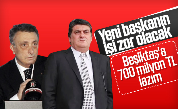 Beşiktaş'ta yeni yönetimin ilk işi borçları ödemek!