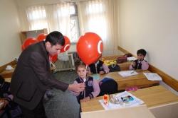 Yakutiye'den Cumhuriyet balonu
