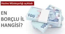 En borçlu il hangisi?...