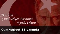 Cumhuriyet 88 yaşında