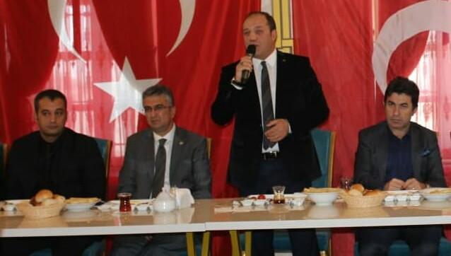 MHP Erzurum İl Başkanlığı istişare toplantısı düzenlendi