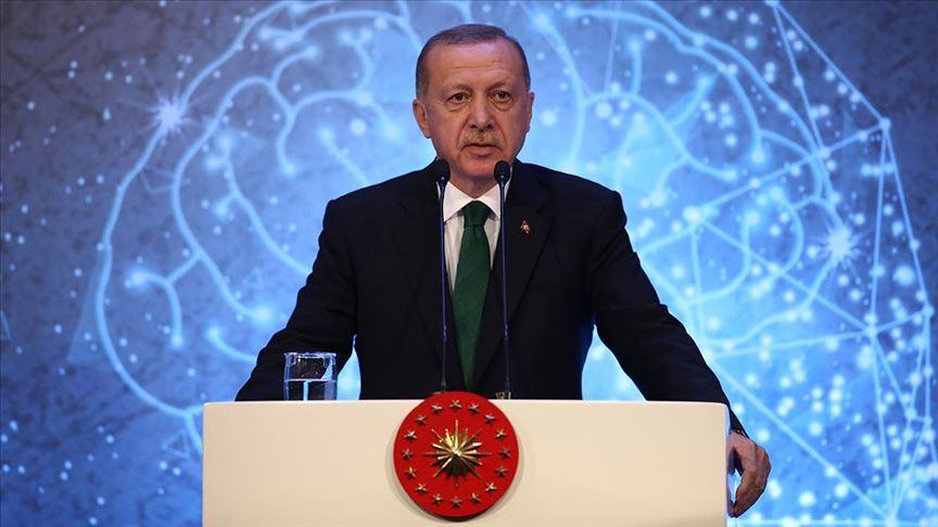 Erdoğan: Suriye'de oluşturduğumuz güvenli bölgeler ülkedeki en huzurlu yerler