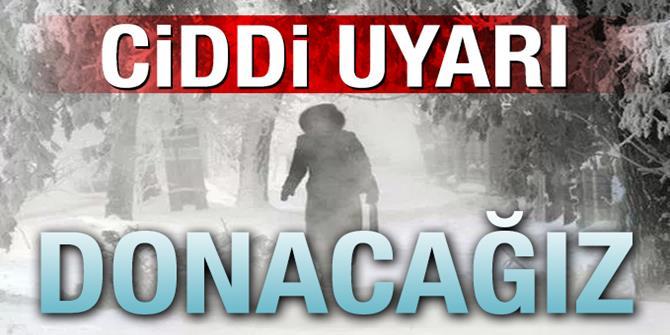 Doğu Anadolu'da sıcaklıklar 4 ila 7 derece azalacak