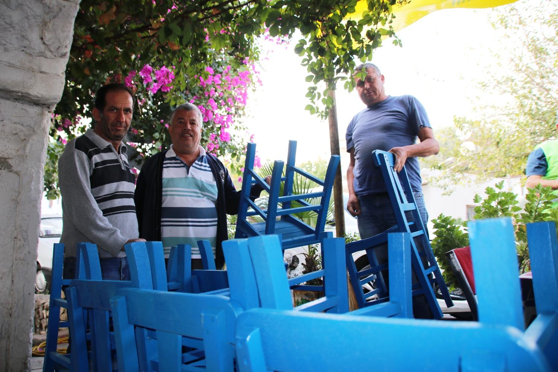 Bodrum Belediyesinden kahvehanelere bedava sandalye