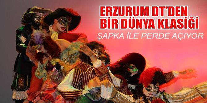 """Erzurum Devlet Tiyatrosu """"Şapka"""" oyunuyla perde açacak"""