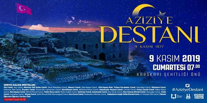 Erzurum tarihine yürüyecek