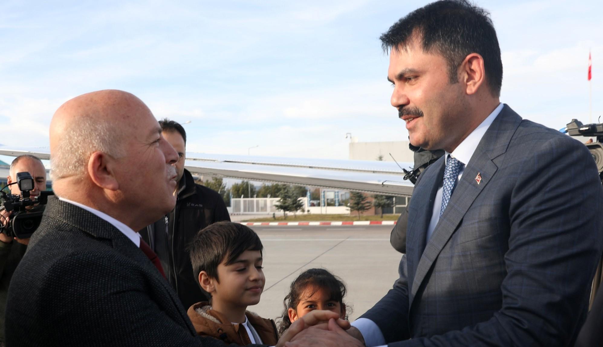 Bakan Kurum'dan Büyükşehir'e tam not