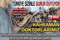 Türkiye sizinle gurur duyuyor
