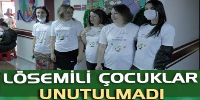 Erzurum'da lösemili çocuklar için moral programı düzenlendi