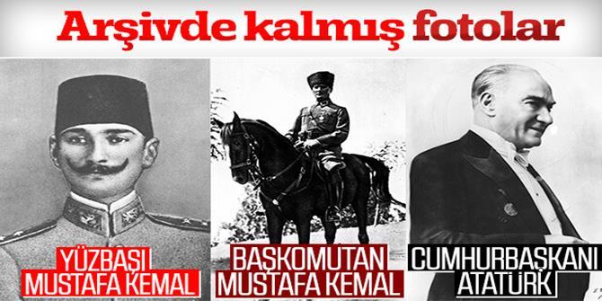 Arşivden Mustafa Kemal Atatürk fotoğrafları
