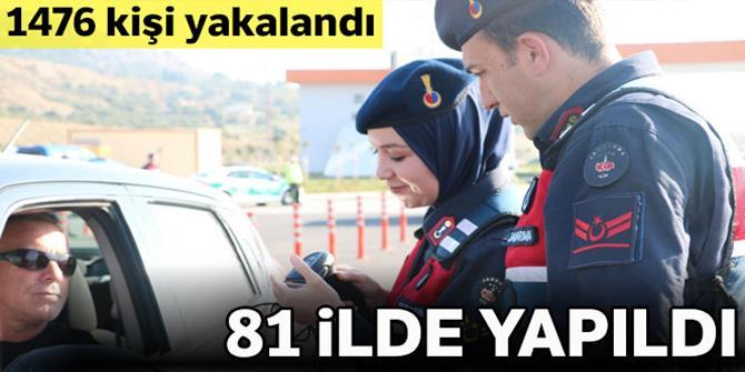 81 ilde eş zamanlı 'Türkiye Güven Huzur 6' uygulamas