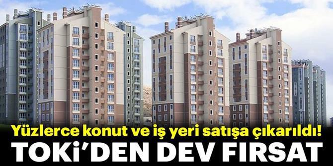 TOKİ'den 335 TL taksitle ev fırsatı!