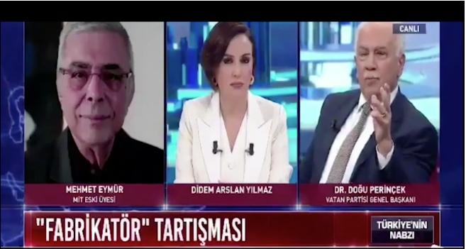 Mehmet Eymür ile Doğu Perinçek arasında 'ajan' tartışması!