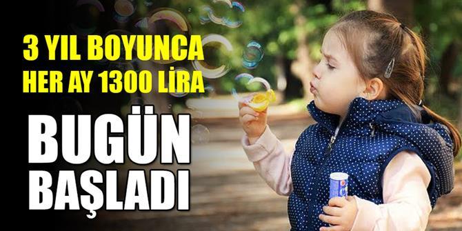 'Eğitimli çocuk bakıcısı' desteğine başvurular başladı!