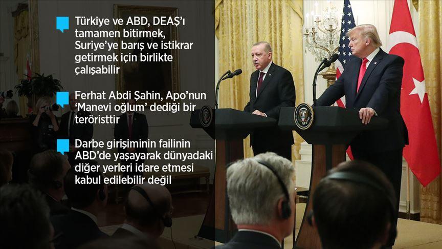 Erdoğan ABD'de bir açıklama daha!