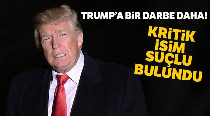 """Trump'ın eski danışmanı """"Kongre'ye yalan söylemekten"""" suçlu bulundu"""
