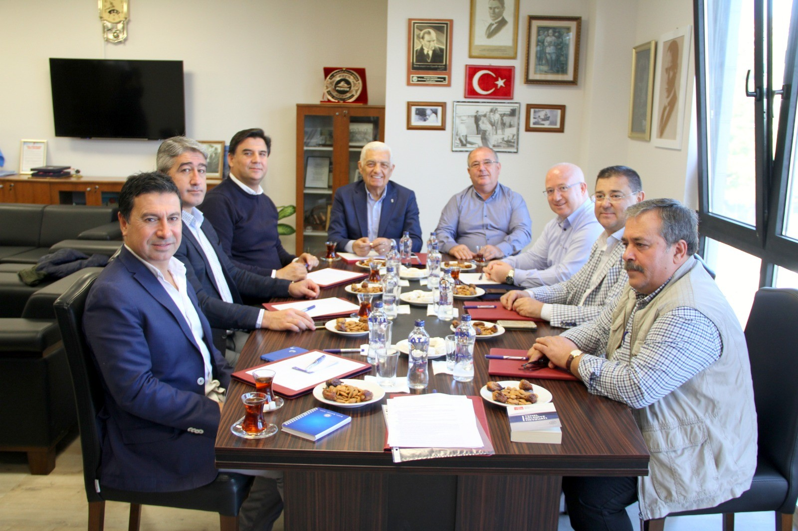 CHP'li Belediye Başkanları Datça'da buluştu