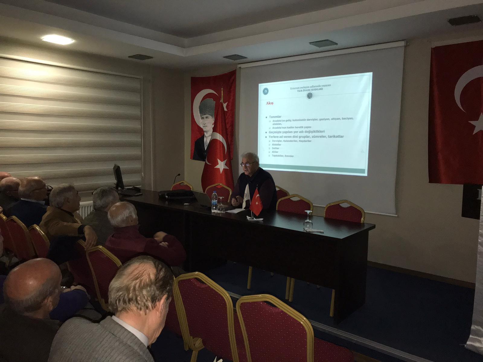 Prof. Dr. Hakan Hadi Kadıoğlu'ndan konferans