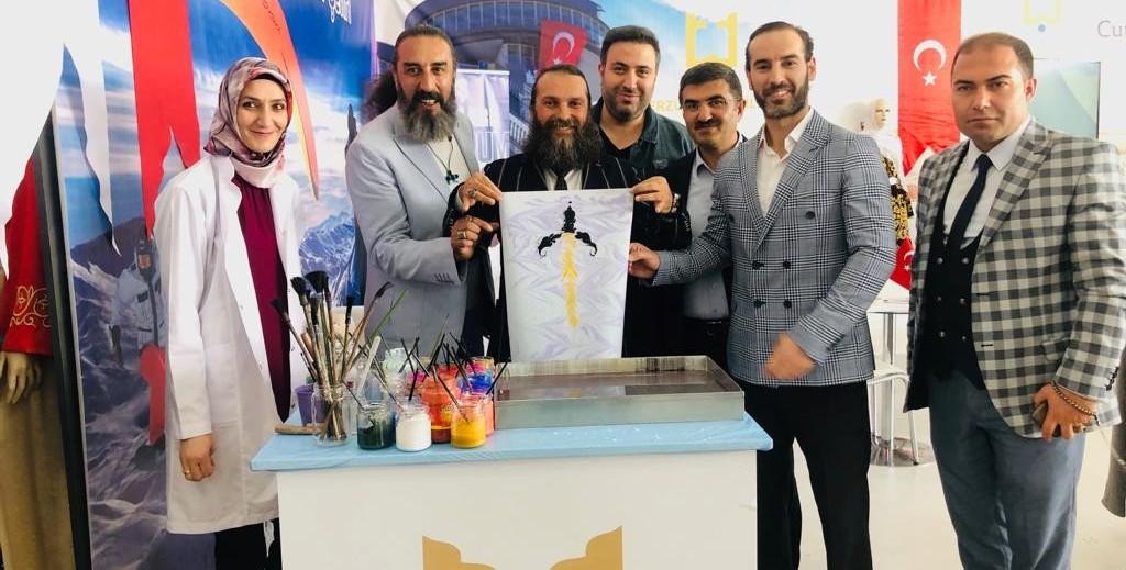 Erzurum Tanıtım Günleri'nde Erzurum AÇSH İl Müdürlüğü standına yoğun ilgi