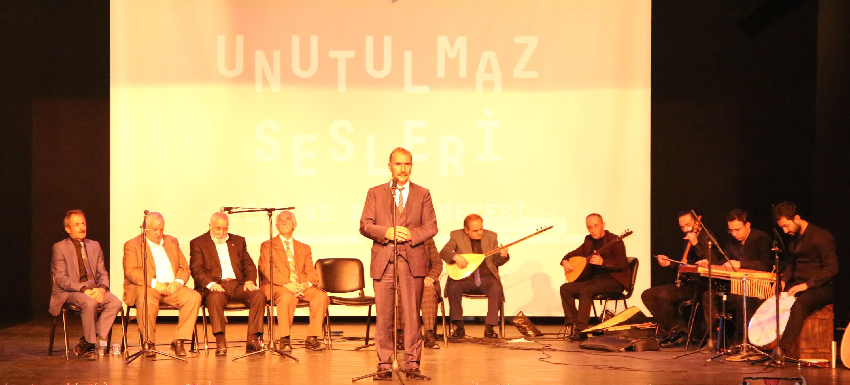"""Büyükşehir'den """"Erzurum'un Unutulmaz Sesleri"""" programı"""