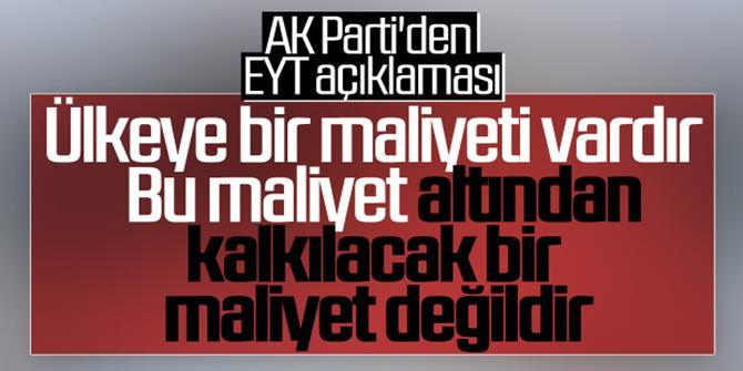 AK Parti'den EYT'lilere kötü haber!