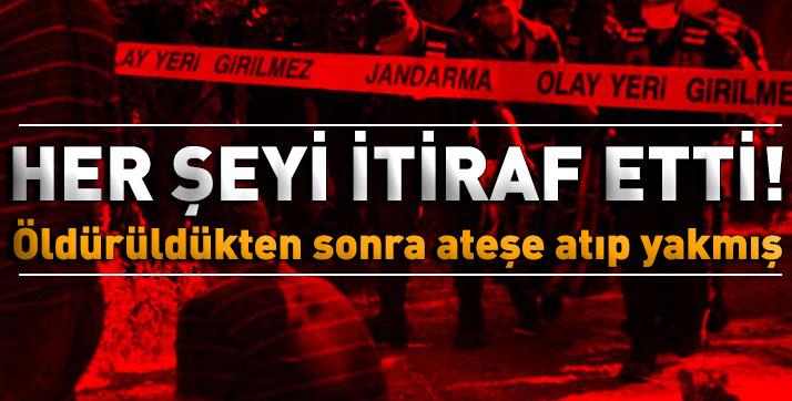 Burdur'da vahşi cinayet! Her şeyi itiraf etti