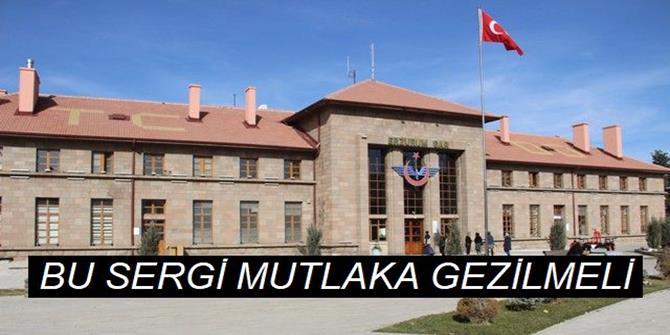 Erzurum Gar Müzesi'nde asırlık malzemeler sergileniyor