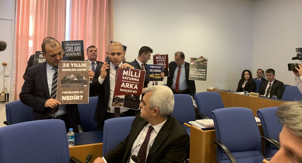 2020 Yılı Bütçesi Plan ve Bütçe Komisyonunda 'milli tank-palet' tartışması