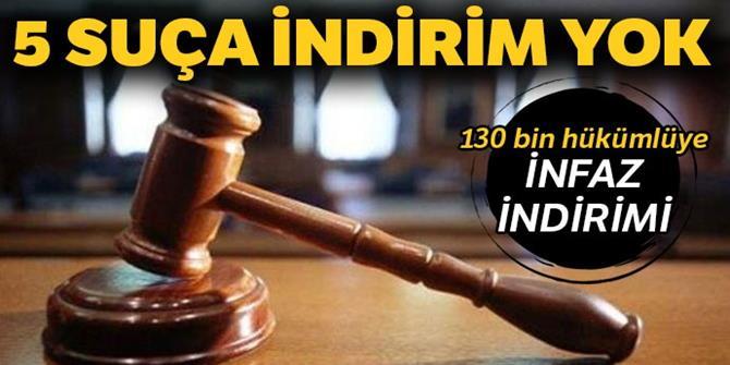130 bin hükümlüye infaz indirimi