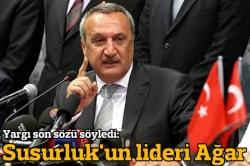Susurluk'un lideri Mehmet Ağar!