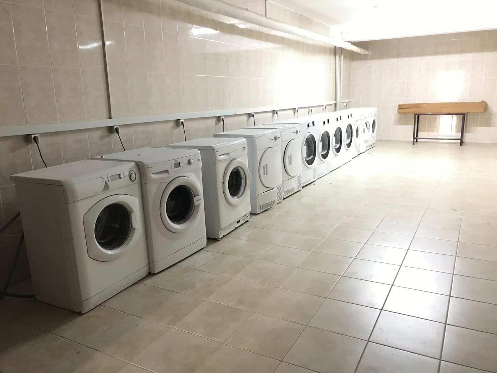 """Erzurum'da üniversite öğrencilerine özel """"ücretsiz çamaşırhane"""" hizmeti"""