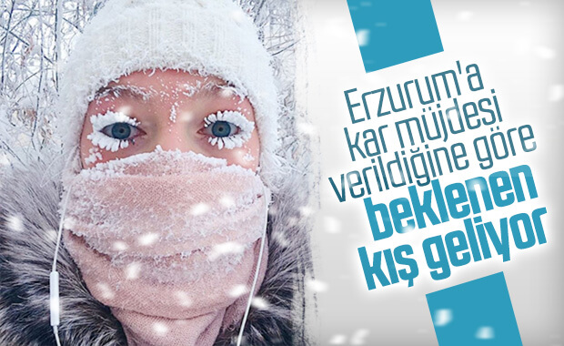 Meteoroloji'den Erzurum'a uyarı geldi!