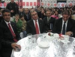 Erzurum MHP`de bayramlaşma