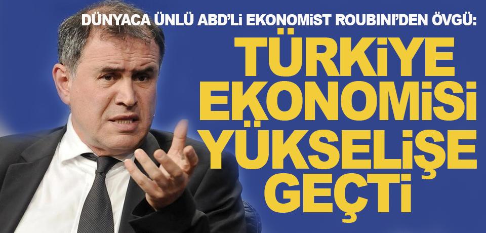 'Kriz kahini' Roubini'den Türkiye açıklaması