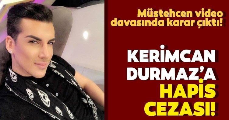 Kerimcan Durmaz'a hapis cezası