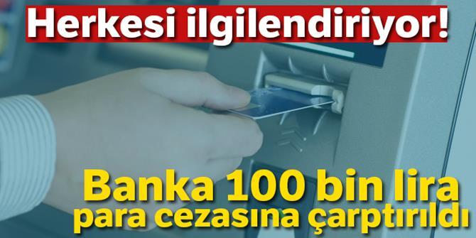 Bankaya kişisel bilgi ihlali cezası